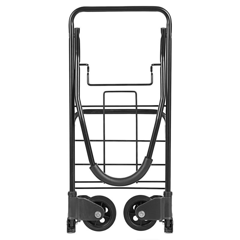 110 lb Capacity Steel Folding Hand Trolley