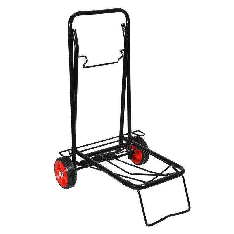 Plastic sprayed steel trolley