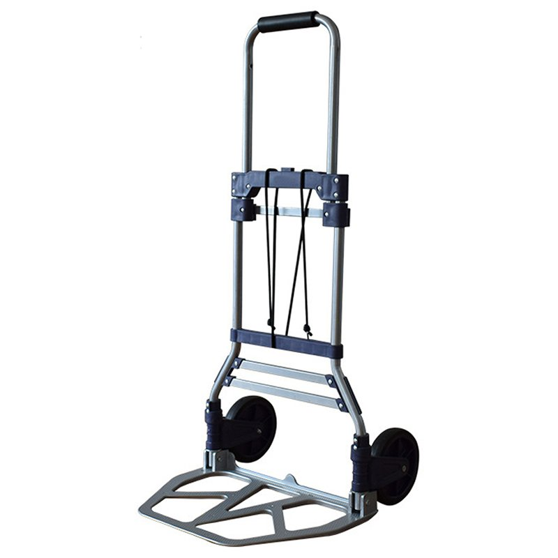 Folding Hand Truck and Dolly Heavy-Duty Luggage Trolley Cart